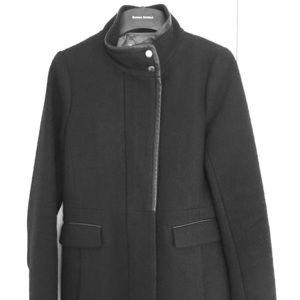 Banana Republic Women's Black Coat